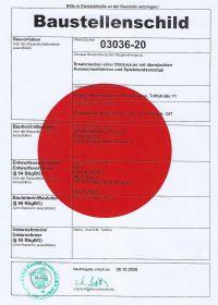 2021-04-15 Baustellenschild